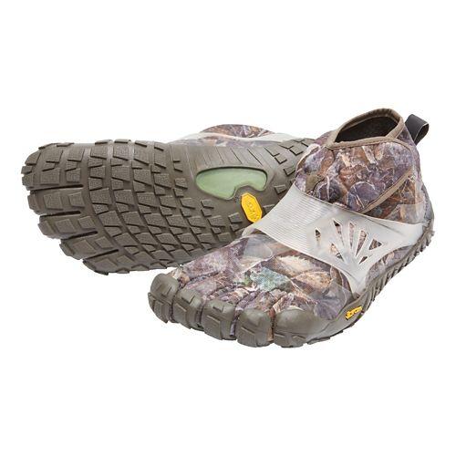 Mens Vibram FiveFingers Spyridon MR Elite Trail Running Shoe - Grey/Green 42