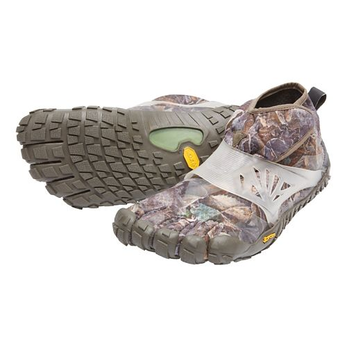 Mens Vibram FiveFingers Spyridon MR Elite Trail Running Shoe - Grey/Green 43