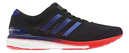 Mens adidas Adizero Boston 6 Running Shoe - Black/Purple 11
