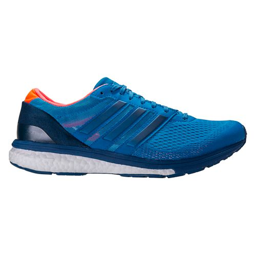 Mens adidas Adizero Boston 6 Running Shoe - Blue 12.5