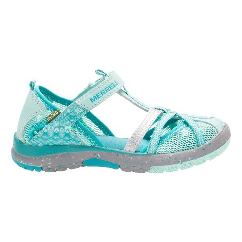 Kids Merrell Hydro Monarch Sandals Shoe - Turq 10C
