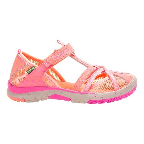Kids Merrell Hydro Monarch Sandals Shoe - Coral 11C