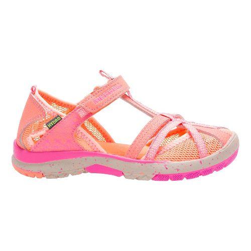 Kids Merrell Hydro Monarch Sandals Shoe - Coral 9C