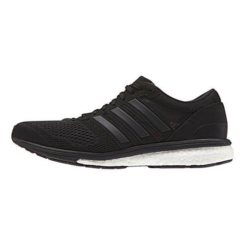 Womens adidas Adizero Boston 6 Running Shoe - Black/Black 10