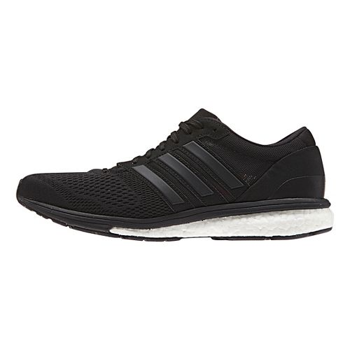 Womens adidas Adizero Boston 6 Running Shoe - Black/Black 5