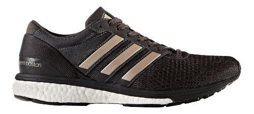 Womens adidas Adizero Boston 6 Running Shoe - Black/Platinum 8.5