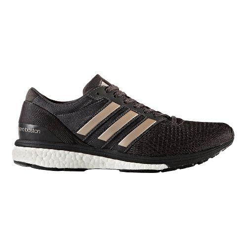 Womens adidas Adizero Boston 6 Running Shoe - Black/Platinum 10