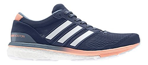 Womens adidas Adizero Boston 6 Running Shoe - Indigo 10