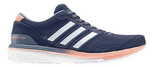 Womens adidas Adizero Boston 6 Running Shoe - Indigo 8