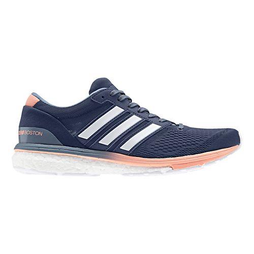 Womens adidas Adizero Boston 6 Running Shoe - Indigo 6