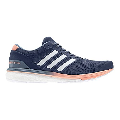 Womens adidas Adizero Boston 6 Running Shoe - Indigo 9