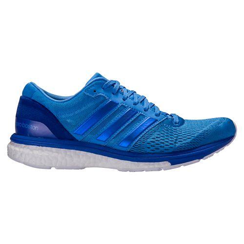 Womens adidas Adizero Boston 6 Running Shoe - Blue 10.5