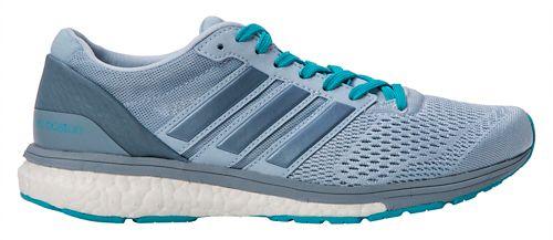 Womens adidas Adizero Boston 6 Running Shoe - Grey/Blue 9.5
