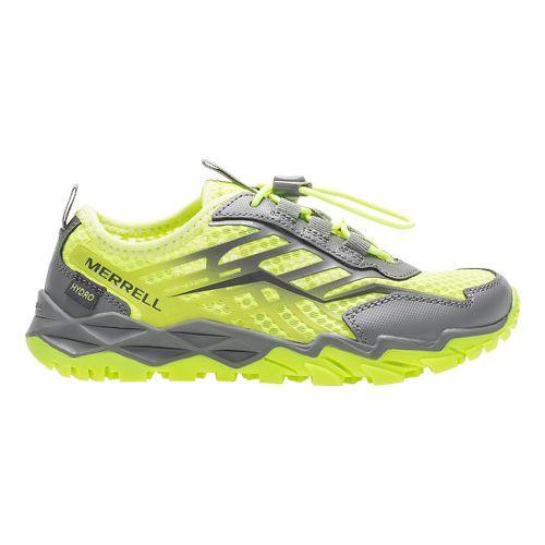 Kids Merrell Hydro Run Running Shoe - Citron/Grey 6.5Y