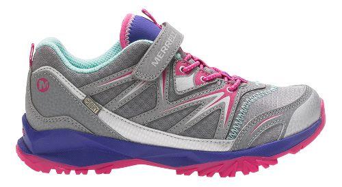 Merrell Capra Bolt Low A/C Waterproof Running Shoe - Grey/Multi 10.5C