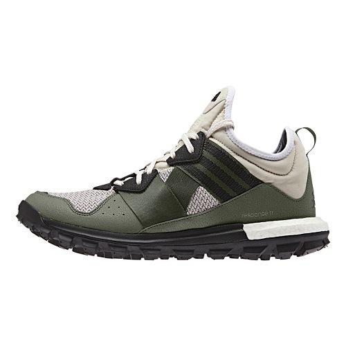Mens adidas Response TR Trail Running Shoe - Green/Brown 11