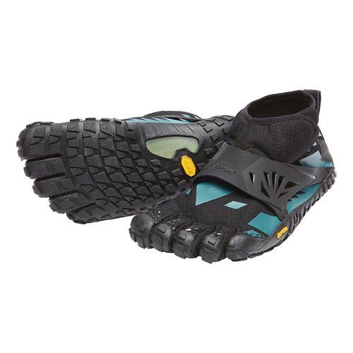 Womens Vibram FiveFingers Spyridon MR Elite Trail Running Shoe - Black/Blue 37