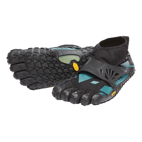 Womens Vibram FiveFingers Spyridon MR Elite Trail Running Shoe - Black/Blue 39