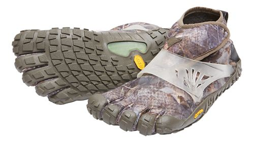 Womens Vibram FiveFingers Spyridon MR Elite Trail Running Shoe - Grey/Green 40