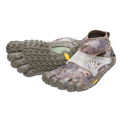Womens Vibram FiveFingers Spyridon MR Elite Trail Running Shoe - Grey/Green 38