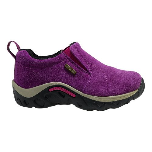 Kids Merrell Jungle Moc Frosty Waterproof Casual Shoe - Wineberry 11C