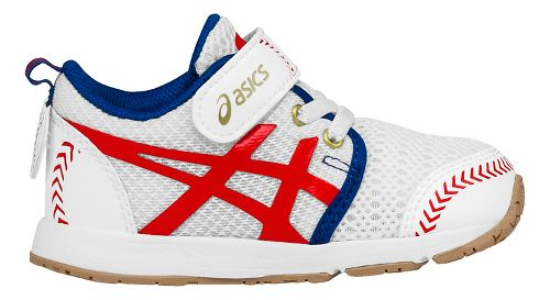 Kids ASICS School Yard Running Shoe - Baseball White 4C