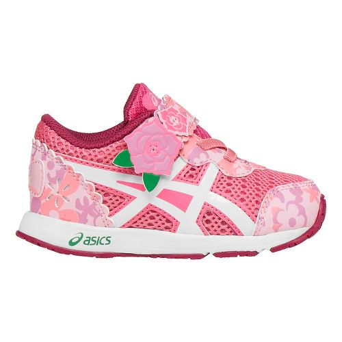 Kids ASICS School Yard Running Shoe - Rose Pink 5C