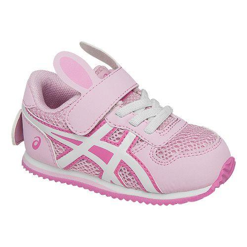 Kids ASICS School Yard Running Shoe - Bunny Pink 8C