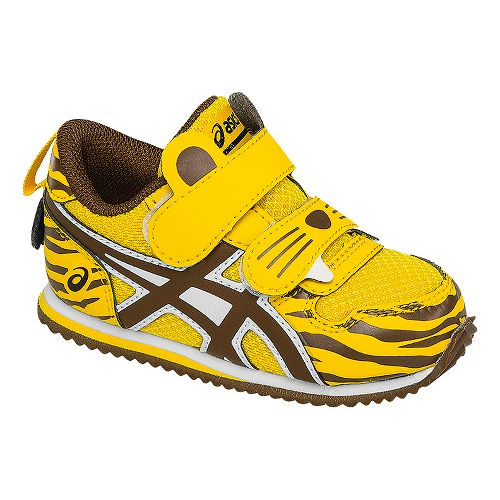 Kids ASICS School Yard Running Shoe - Tiger Gold 7C