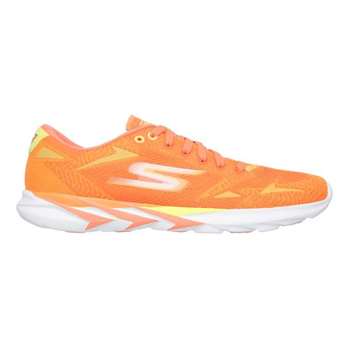 Mens Skechers GO MEB Speed 3  Running Shoe - Orange 13