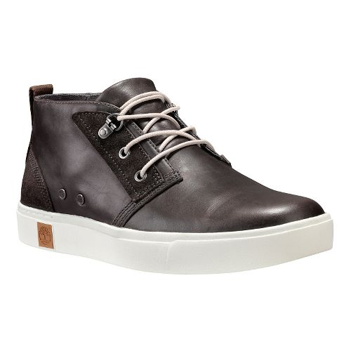 Mens Timberland Amherst Chukka Casual Shoe - Dark Grey Full Grain 11.5