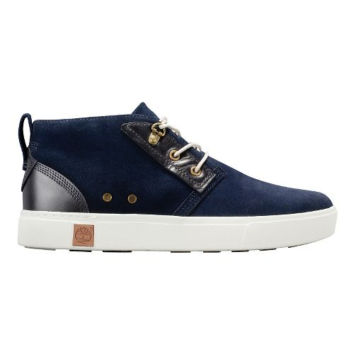 Mens Timberland Amherst Chukka Casual Shoe - Navy Suede 9