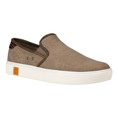 Mens Timberland Amherst Slip-On Casual Shoe - Teak 12