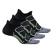 Feetures Elite Max Cushion No Show Tab 3 Pack Socks