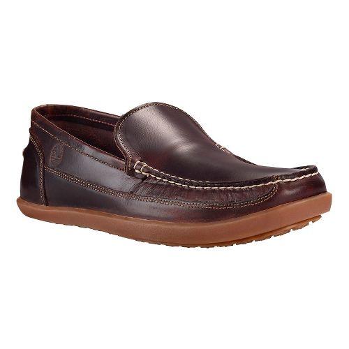 Mens Timberland Odelay Venetian Casual Shoe - Dark Red 10.5