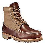 Mens Timberland Authentics Leather and Fabric Chukka Casual Shoe