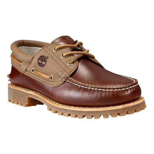 Men's Timberland�Timberland Authentics 3-Eye Lug Leather