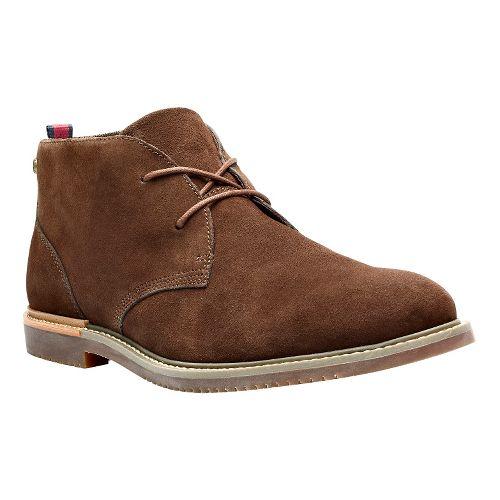 Mens Timberland Brook Park Chukka Casual Shoe - Dark Brown 7.5