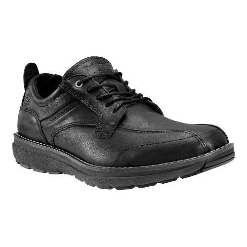 Mens Timberland Barrett Park Run-Off Toe Oxford Casual Shoe - Black 8