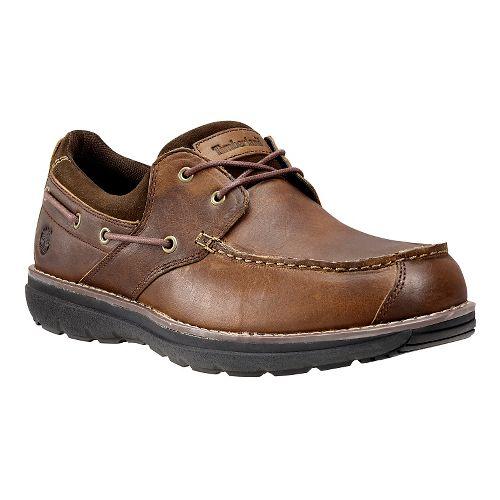 Mens Timberland Barrett Park 2-Eye Boat Casual Shoe - Medium Brown 8