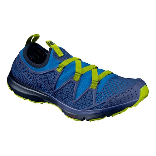 Mens Salomon Crossamphibian Hiking Shoe - Nautical Blue 8