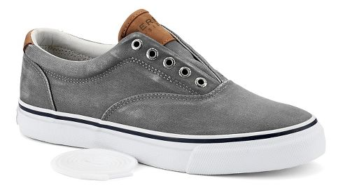 Mens Sperry Striper LL CVO Casual Shoe - Grey 10.5