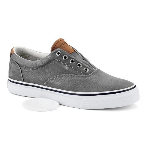 Mens Sperry Striper LL CVO Casual Shoe - Grey 9.5