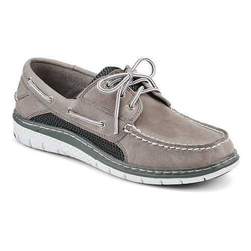 Mens Sperry Billfish Ultralite 3-Eye Casual Shoe - Grey/Black 10.5