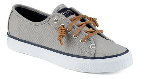 Womens Sperry Seacoast Canvas Casual Shoe - Grey 9