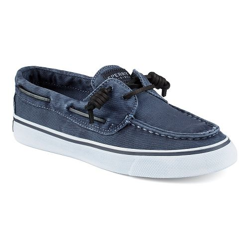 Womens Sperry Bahama Washed Casual Shoe - Navy 11