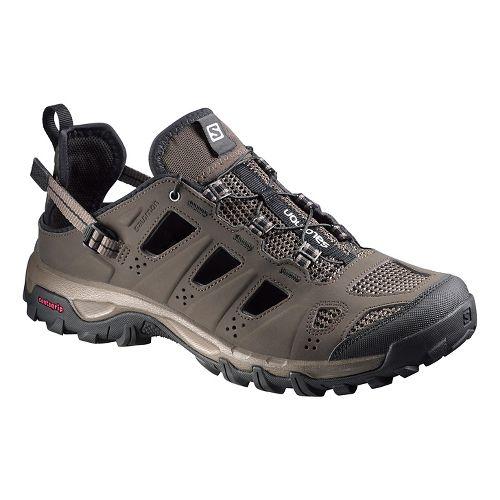 Mens Salomon Evasion Cabrio Hiking Shoe - Brown/Black 10.5