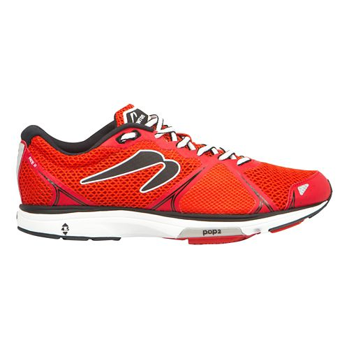 Mens Newton Running Fate II Running Shoe - Red/Black 8.5