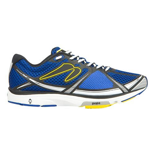 Mens Newton Running Kismet II Running Shoe - Blue/Black 10.5
