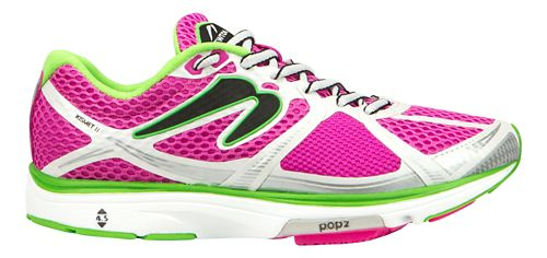 Womens Newton Running Kismet II Running Shoe - Pink/Green 6.5